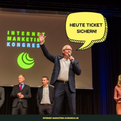 Internet Marketing Kongress Foto Speaker