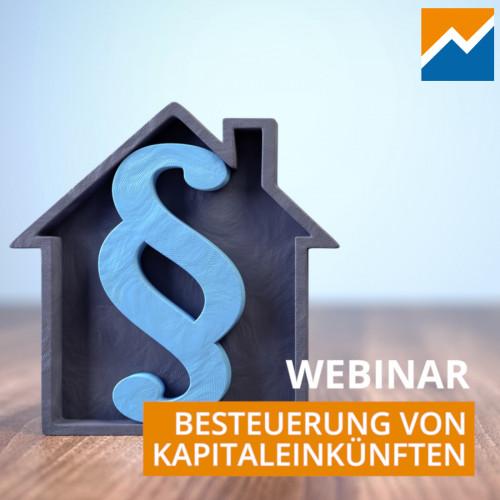 Besteuerung von Kapitaleinkünften (Online-Kurs)