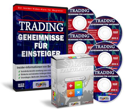 Trading Geheimnisse für Einsteiger + Boni